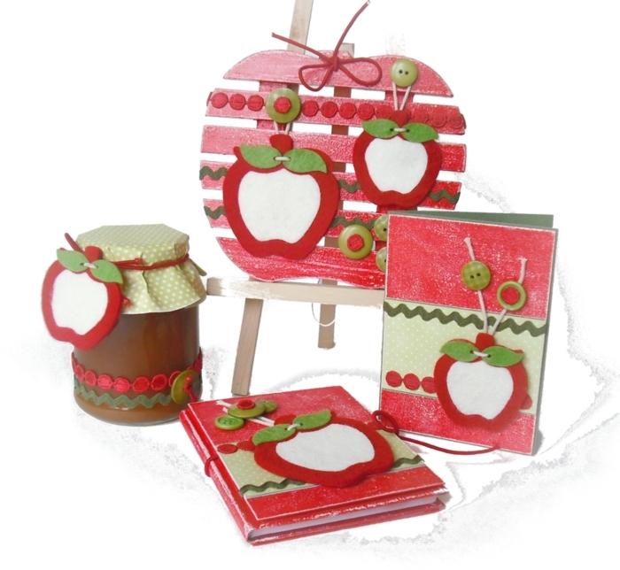 Открытки с яблоками своими руками