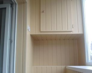 Внутренняя и наружная обшивка (отделка) балконов и лоджий в .